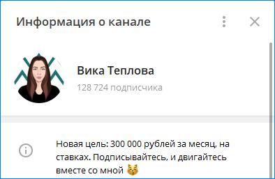 Аналитик в Telegram