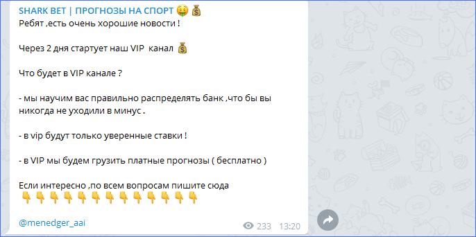 Вип-канал для аудитории каппера