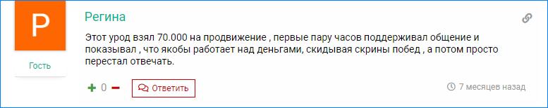 Мошенничество Rich Vasya