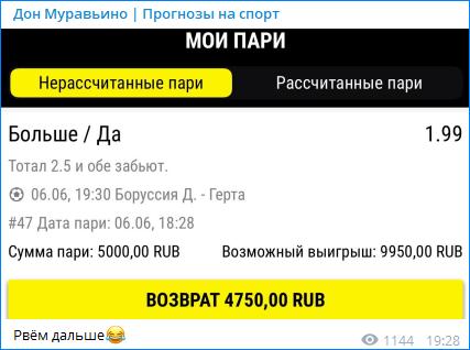 Прогноз Дона Муравьино