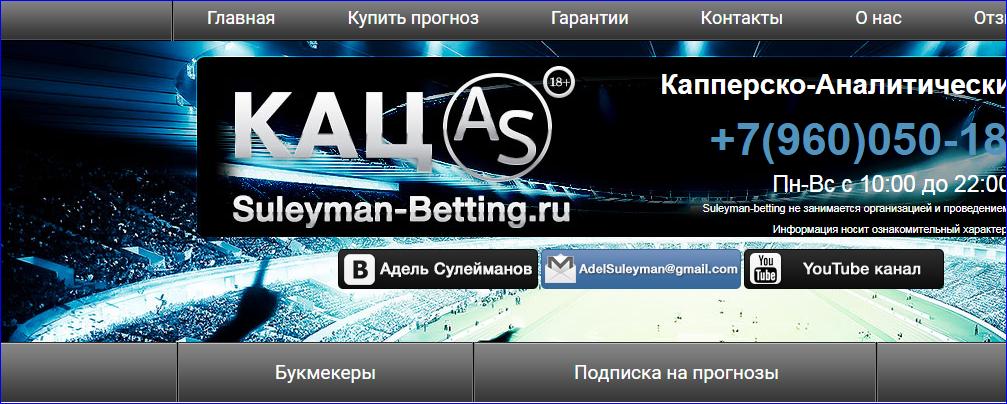 Сайт Аделя Сулейманова