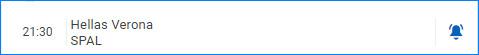 Как только матч начнется, пользователю придет оповещение в браузере
