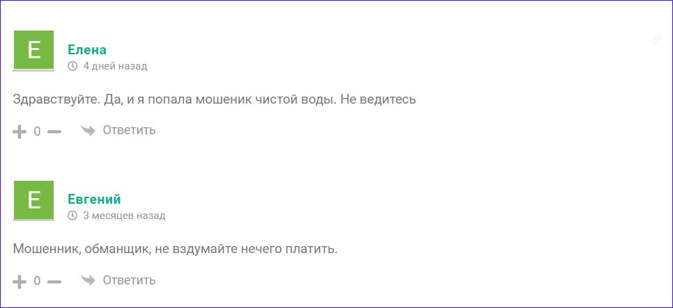Мнения о проекте