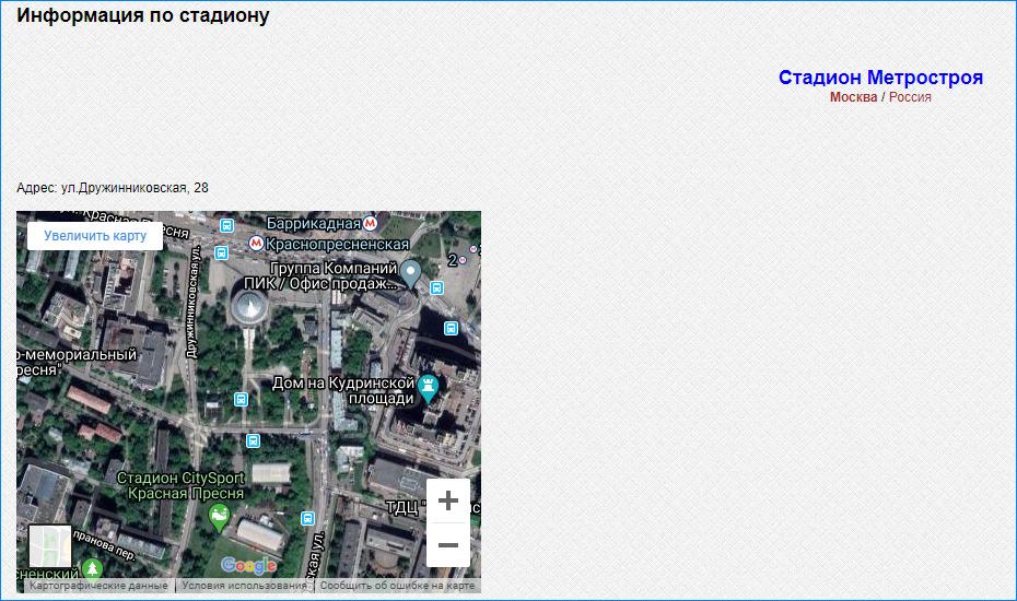 На сайт внедрены карты